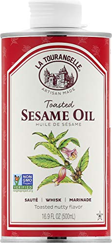 Toasted Sesame Oil – All-natural, Expeller-pressed, Non-GMO, Kosher.