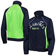 Material: 100% Polyester Two front slip pockets Lightweight jacket suitable for mild temperatures Screen print graphics Sequin graphics