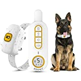 KOSPET Dog Training Collar - Rechargeable Dog Shock Collar with Remote,Beep,Vibration and Shock 3...
