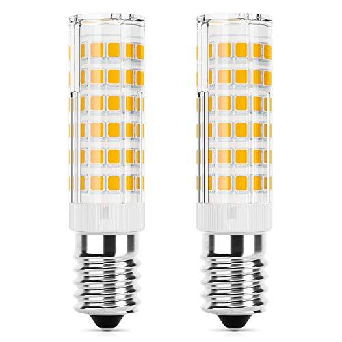 DiCUNO E14 LED Lampadina 5W (equivalente alogeno 50W), 550LM, Bianco caldo (3000K), base in ceramica...
