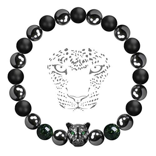 Karseer Black Panther Magnetic Hematite and Matte Onyx...