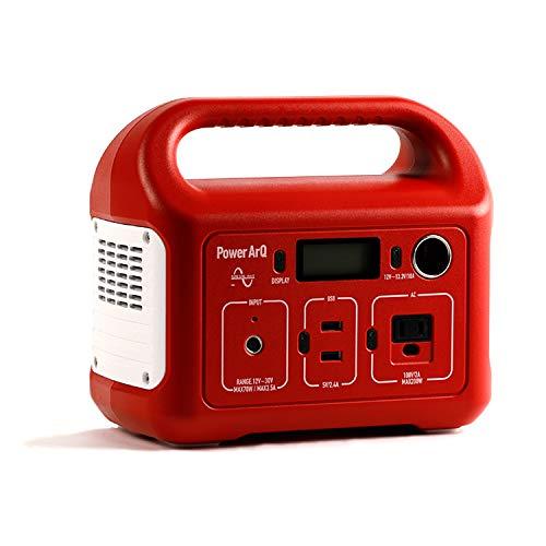 SmartTap ポータブル電源 PowerArQ mini レッド (311Wh / 86,400mAh / 3.6V / 正弦波) 正規保証1年 HTE032-RD