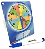 Learning Clock - Learn To Tell Time Demonstration Clock