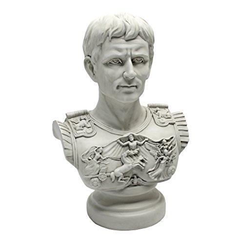 Design Toscano AH250835 Augustus Caesar Primaporta Bust...