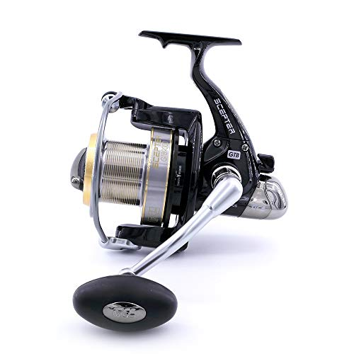 TICA, Mulinello Scepter Gtb 9000 4.1 Surf Casting, Black, Gear Ratio