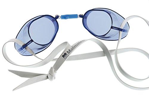 Malmsten Swedish Goggles Standard, Occhialini da nuoto, Unisex, Blu