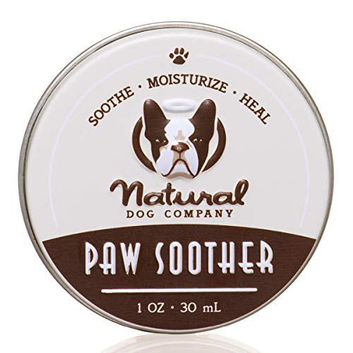Natural Dog Company Paw Soother, Heals Dry,...