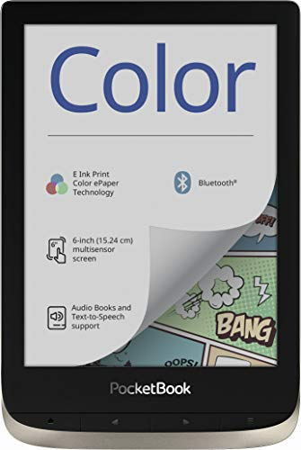 PocketBook - Lector de Libros electrónicos (16 GB de Memoria, 15,24...