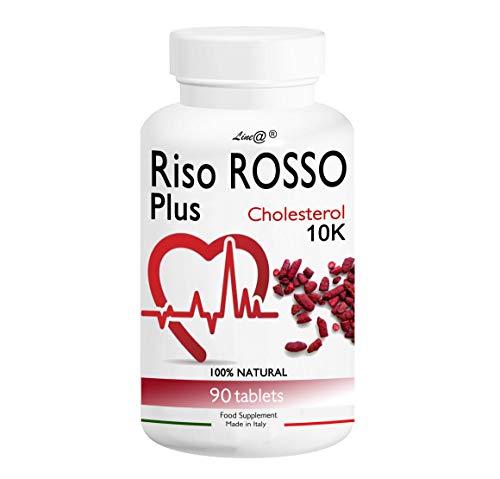 RISO ROSSO PLUS K10 Fermentato   90 compresse (trattamento PER 3 MESI)