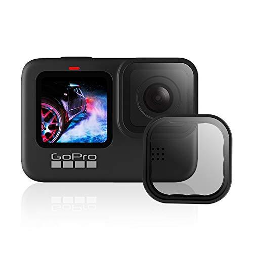 AuyKoo GoPro Filtro polarizzatore per GoPro Hero 9, obiettivo della fotocamera Filtro polarizzatore Kit di protezione dell'obiettivo per GoPro Hero 9 Nero Accessori