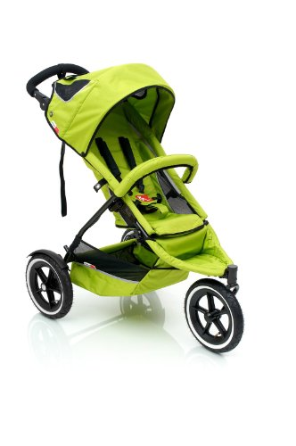 phil&teds SP Sport Buggy Jogging Stroller - Apple (Green)