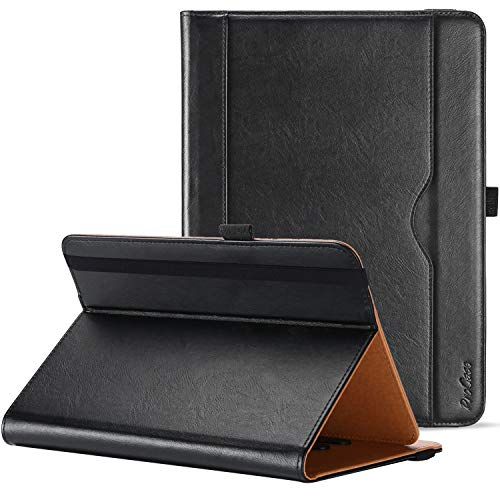 ProCase Universal Tablet Case for 7-8 inch Tablet, Stand Folio Case Protective Cover for 7' 8' Touchscreen Tablets  Black
