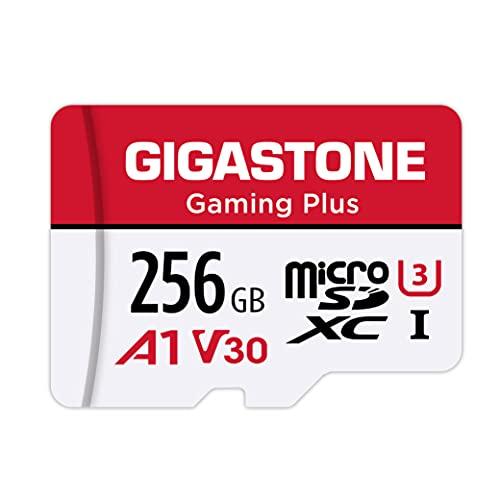 Gigastone Scheda di Memoria Micro SDXC da 256 GB,...