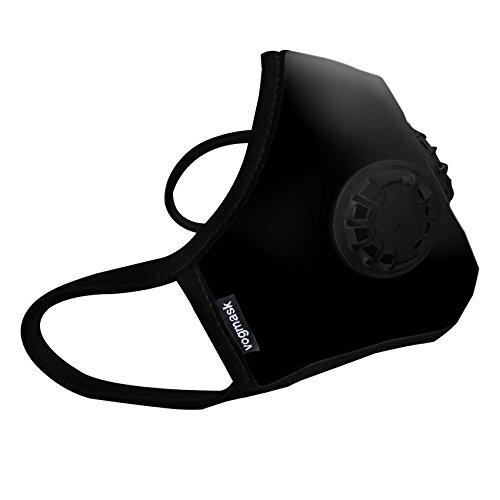 Vogmask Black C2V Organic (Medium) Reusable Anti-Viral, Anti Pollution Mask With N95 Grade