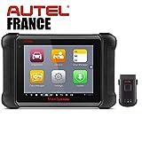 Autel Francia Autel MaxiSys MS906 BT – 2 años de actualizaciones + paquete de software – Versión oficial – Maletín diagnóstico inalámbrico Bluetooth Auto Pro Multi marcas