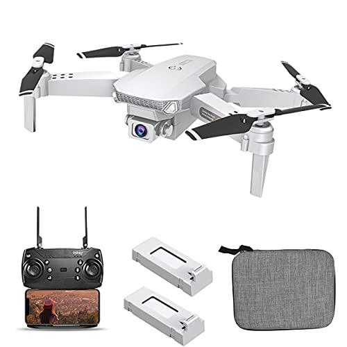 OBEST Mini Drone con Fotocamera 4k, Doppia Fotocamera HD FPV,Posizionamento del Flusso Ottico, Sensore di Gravit, Modalit Senza Testa,Decollo/Atterraggio con una Chiave,Scelta Regalo Perfetta