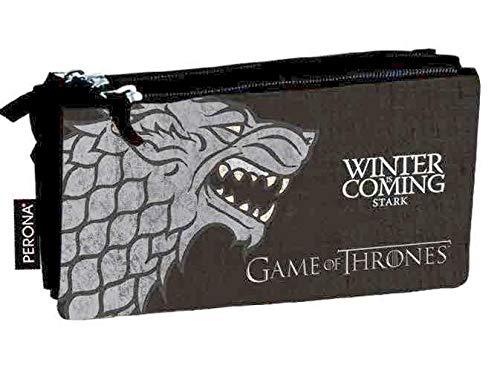 Game of Thrones - Estuche portatodo Triple (Perona 56983)