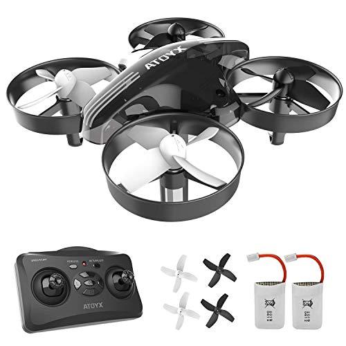 Mini Drone per Bambini e Principianti AT-66 Droni con Telaio di Protezione Giocattoli RC Quadcopte...