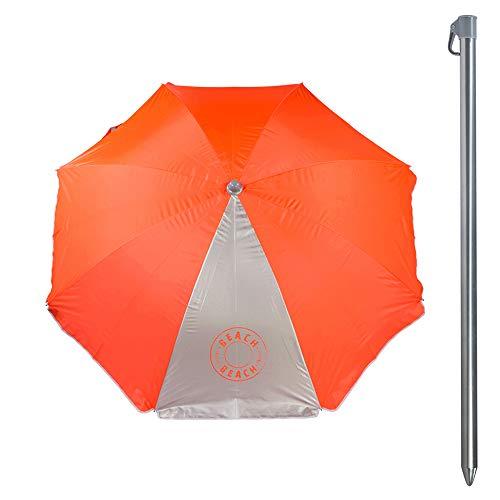 Aktive 62108 Sombrilla 180 cm protección UV50 Beach - 2 sur