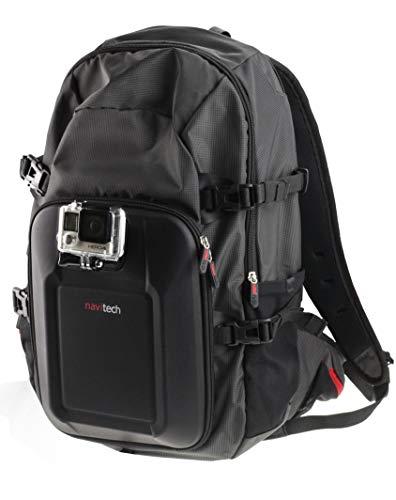 Navitech Zaino per Action Cam E Kit Combinato di Accessori 8 in 1 con Fascia Toracica Integrata Compatibile con WiMiUS Q1 4K | YELIN 1080P Yonis Camera | SPORTZeblaze ishot1ZONKO 4K Sport