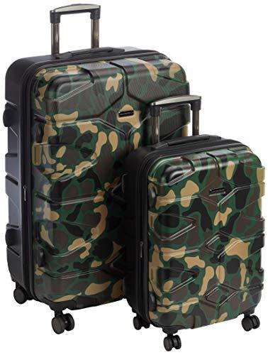 HAUPTSTADTKOFFER - X-Klln - Set 2 Bagagli Rigidi espandibile, valigie cabina e grande (S & L),...