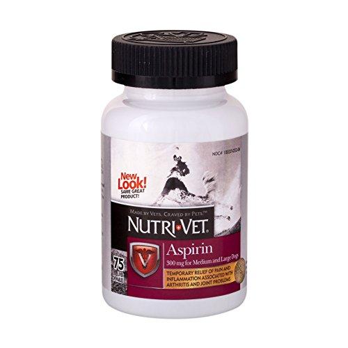 Nutri-Vet Asprin Chewables for Large Dogs |...