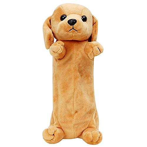 La Haute bambini super cute Plush Pencil Case Dog design portamatite penna custodia per scuola...
