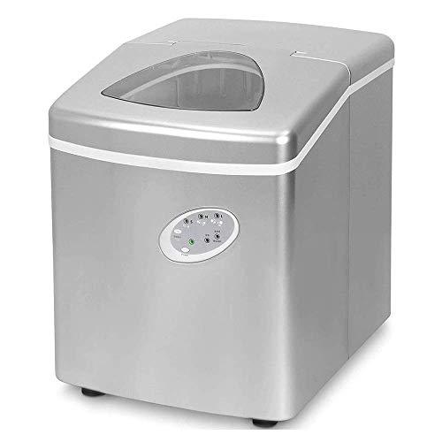 Macchina per il ghiaccio professionale Riempimento automatico dell'acqua Macchina per il ghiaccio rotonda Macchina per il ghiaccio da negozio di t al latte, Produzione di cubetti di ghiaccio por