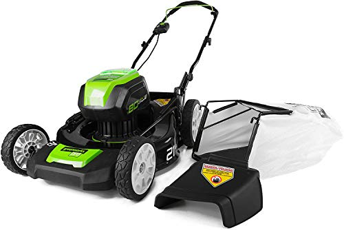 Greenworks Pro 80V 21 inch Push Cordless Lawn Mower, Tool...