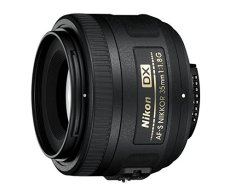 Nikon AF-S DX 35mm 1.8 G - Objetivo para Montura (distancia focal fija 52.5mm, apertura f/1.8) negro - Versión Española [Garantía 5 años y cobertura de robo un año con el acceso a Nikonistas]