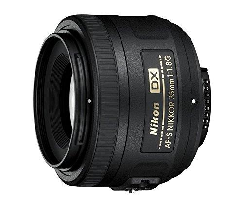 Nikon AF-S DX Nikkor 35 mm f/1.8 G - Objetivo para montura F, distancia focal fija 52.5 mm,...