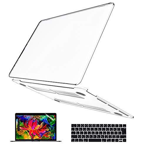 New MacBook Pro 13 ケース Belk [日本語 キーボード カバー+液晶保護フィルム+マックブック プロ 13.3イン...
