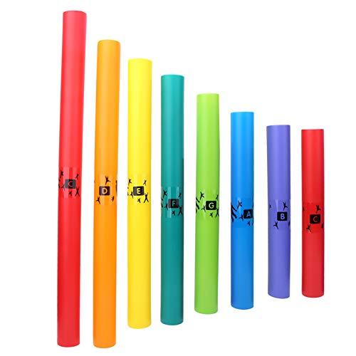 Strumento a percussione Orff, tubo sonoro in plastica Tubo sonoro Orff per bambini o neonati per appassionati di musica