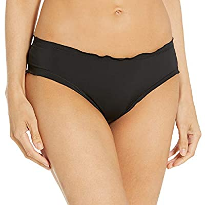 DESIGNER SUMMER SWIMWEAR — The Hobie ruffle hipster bottom is a versatile swim bottom that is the perfect addition to your swimwear collection. These hip-hugging bottoms are the perfect go-to for mixing and matching at the beach, pool party, or summe...