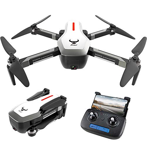 GoolRC SG906 GPS Senza spazzole 4K Drone con Fotocamera 5G WiFi FPV Pieghevole Ottico Flusso di Posizionamento Altitude Hold RC Quadcopter