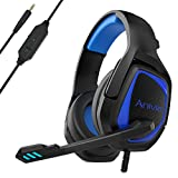Stereo Gaming Headset for PS4 PC Xbox One Controller Noise Cancelling - Anivia Over Ear Headphones...