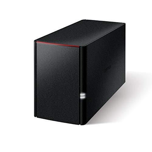 BUFFALO NAS PC/スマホ/タブレット対応 ネットワークHDD 6TB LS220D0602N 【データを守るRAID1対応モデル】