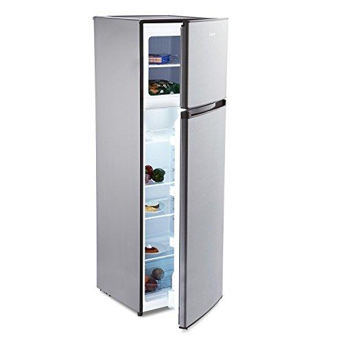 KLARSTEIN Height Cool Black Frigorifero con Congelatore Combinato Libera Installazione (54 x 140 x...