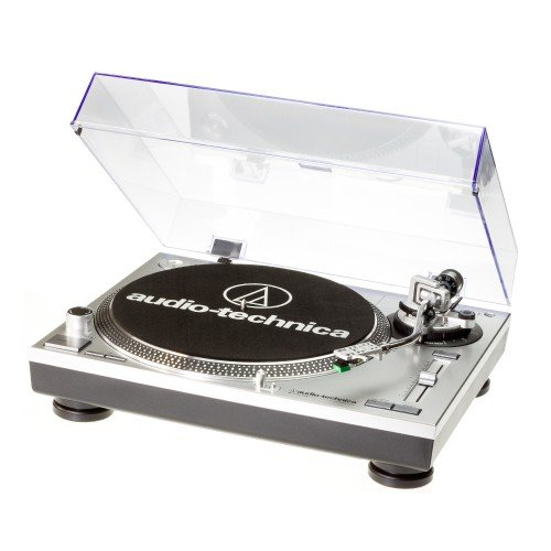 Audio Technica AT-LP120USB HC (silver) - Giradischi professionale completo di testina/puntina