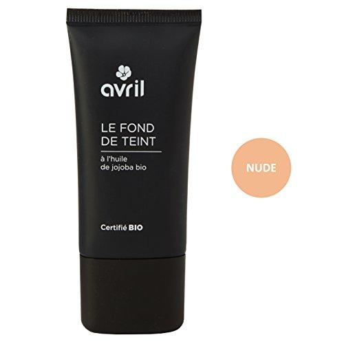 Avril Fond de Teint Certifié Bio Nude 30 ml
