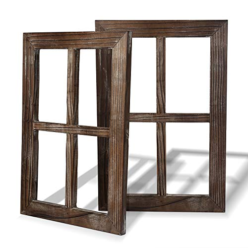 Rustic Wall Decor-Home Decor Window Barnwood Frames -Room Decor...