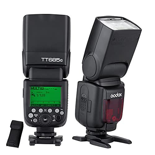 GODOX TT685C E-TTL 2.4G 無線マスターとスレーブ スピードライト 懐中電灯 ストロボ Canon EOS 650D 600D 550D 500D 5D Mark III適用