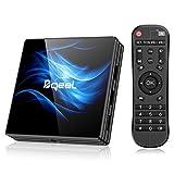 Bqeel Android 10.0 TV Box R2 MAX, 4GB RAM 64GB ROM / CPU RK3318 64bit /Dual WIFI 2.4/5G + 100M LAN, TV box android dolby/H.265 3D 4K UHD Smart Box TV Android