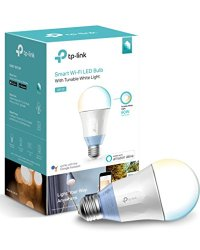 TP-LINK LB120 Dimmable LED WiFi Smart Light Bulb, 60W Equivalent, Tunable White