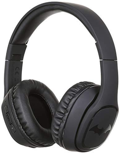 OTL Technologies Casque audio Bluetooth TWEEN Batman (pliable, arceau rembourré, design élégant, autonomie jusqu'à 30 heures, pour adolescents et adultes), Noir