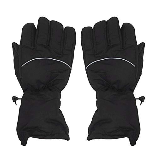 Starnearby Guanti passeggino, guanti riscaldati a batteria Guanti termici da sci con controllo...