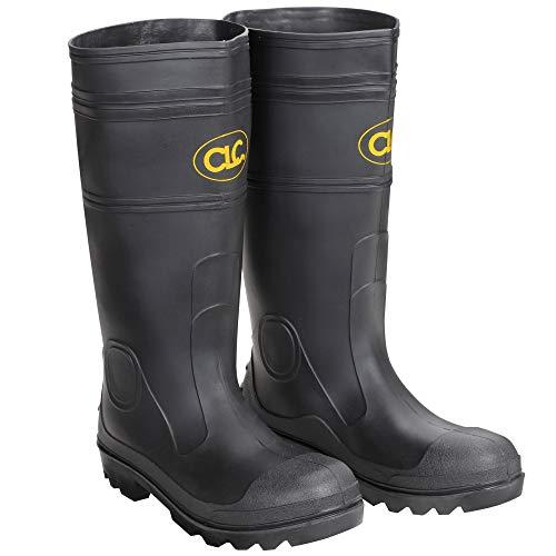 CLC Custom Leathercraft Rain Wear R230 Over The Sock Black PVC Men's Rain Boot, Size 11