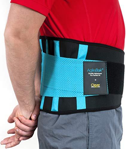 Ruckenstütze Rückengurt – Lindert Schmerzen und Beugt Verletzungen Vor, Medizintechnik, AgileBak von Clever Yellow
