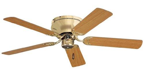 Emerson 52' Ceiling Fan Snugger Polished Brass CF805SPB