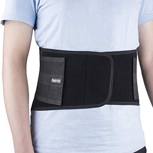 FREETOO cintura per parte inferiore della schiena, utilizzare per medicale e sport, prevenzione...